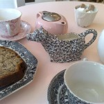 High Tea cake and tea